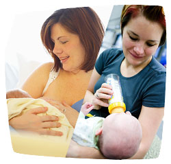 breastfeeding vs bottlefeeding